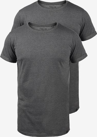 !Solid T-Shirt 'Longo' in grau, Produktansicht