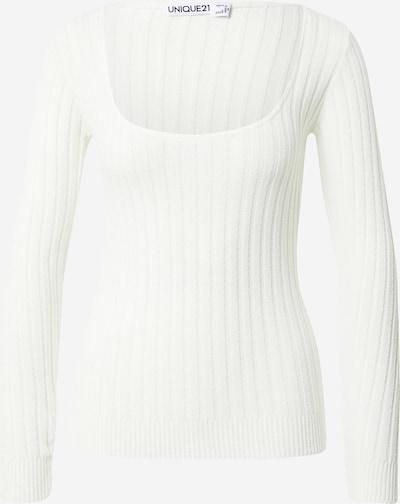 Unique21 Pullover in weiß, Produktansicht
