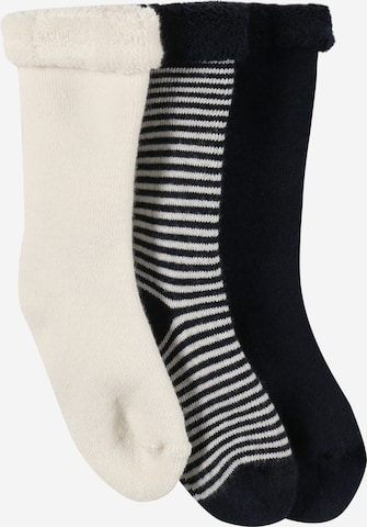 PETIT BATEAU Socken in Schwarz