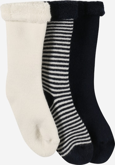 PETIT BATEAU Socken in beige / schwarz, Produktansicht
