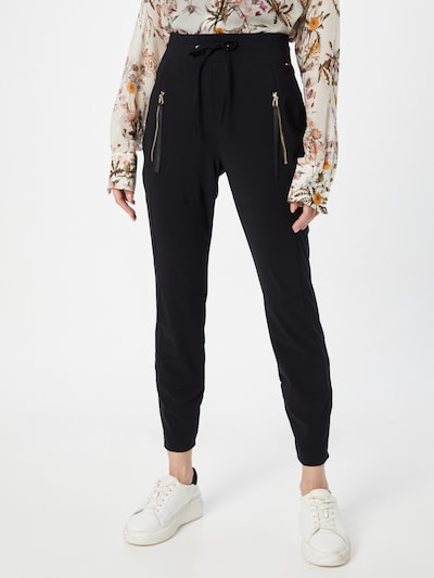 Pantaloni 'Mirella' JOOP! pe negru, Vizualizare model