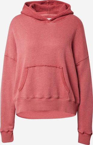 American Eagle Sweatshirt 'DOLMAN' i rød