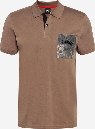 BOSS Casual Poloshirt 'High' in beige, Produktansicht