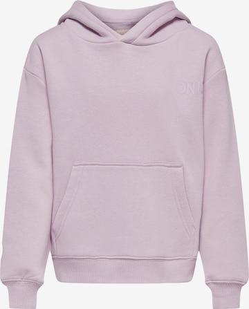 KIDS ONLYSweater majica 'Every' - ljubičasta boja