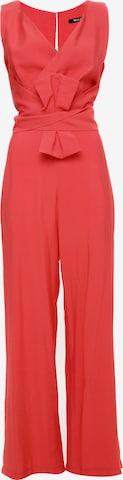 Madam-T Jumpsuit 'Rebecca' in Red