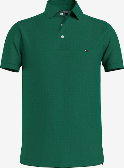 TOMMY HILFIGER T-Shirt en vert foncé, Vue avec produit