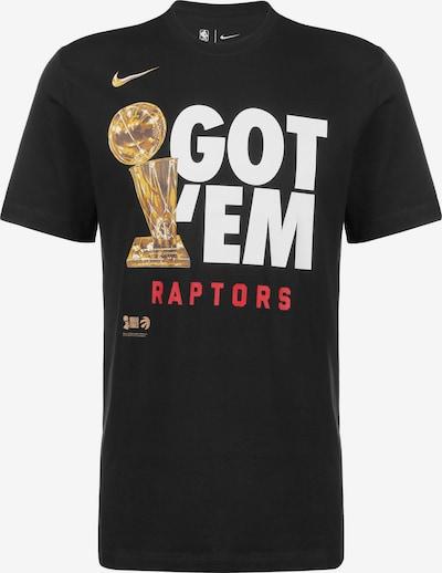 NIKE Functioneel shirt 'Toronto Raptors Club Parade' in de kleur Goud / Rood / Zwart / Wit, Productweergave