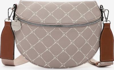 TAMARIS Tasche 'Anastasia' in taupe / weiß, Produktansicht