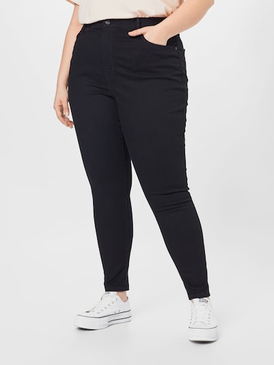 Levi's® Plus Jeans in de kleur Black denim, Modelweergave