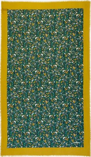 Marc O'Polo Schaltuch in nachtblau / gelb / grün / weiß, Produktansicht