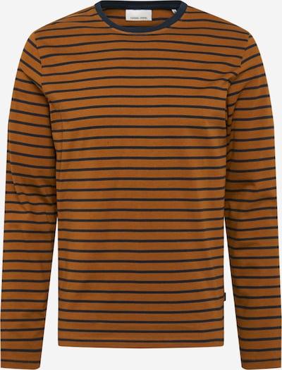 Marškinėliai 'Sean' iš Casual Friday , spalva - tamsiai mėlyna / karamelės, Prekių apžvalga