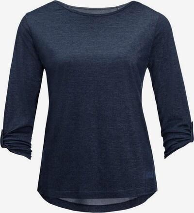 JACK WOLFSKIN Sportsweatshirt 'CORAL COAST 3/4 T W' in navy, Produktansicht