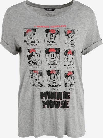 PRINCESS GOES HOLLYWOOD T-Shirt 'Minnie Faces' in grau, Produktansicht