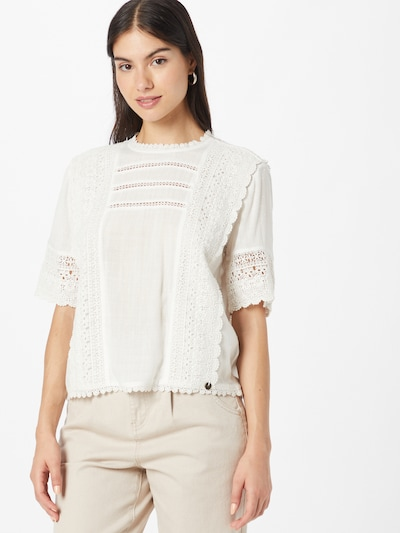 Superdry Blouse 'Annie' in White, View model