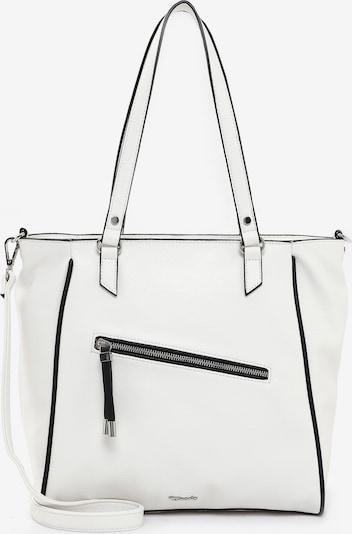 TAMARIS Cabas en noir / blanc, Vue avec produit