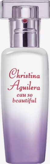 Christina Aguilera Eau de Parfum 'eau so beautiful' in transparent, Produktansicht