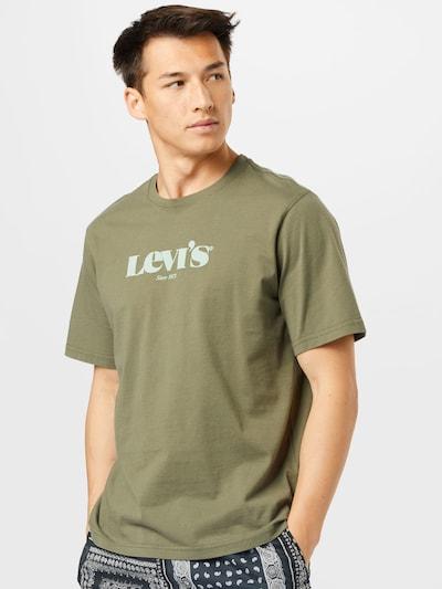 LEVI'S T-Shirt en olive / vert pastel: Vue de face