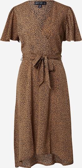 Mela London Kleid in braun / schwarz: Frontalansicht