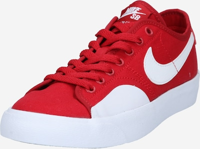 Nike SB Sports shoe 'Blazer Court' in red / white, Item view
