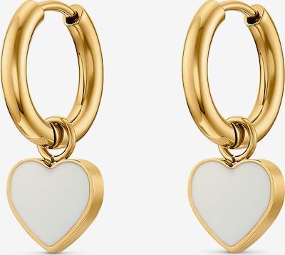 Guido Maria Kretschmer Jewellery Ohrringe in gold / weiß, Produktansicht