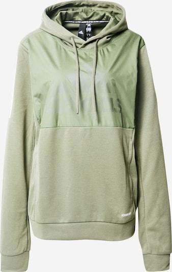 ADIDAS PERFORMANCE Sportsweatshirt in hellgrün, Produktansicht