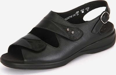 SOLIDUS Sandalen in schwarz, Produktansicht