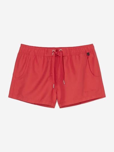Marc O'Polo Shorts de bain ' Solids ' en rouge, Vue avec produit