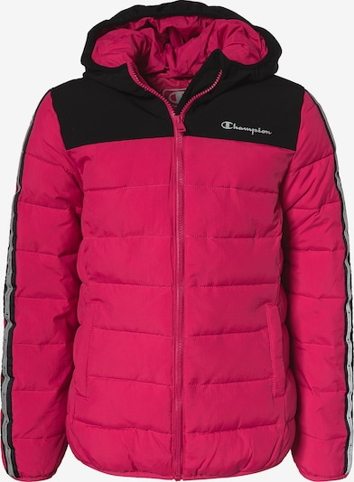 Champion Authentic Athletic Apparel Jacke in pink / schwarz, Produktansicht
