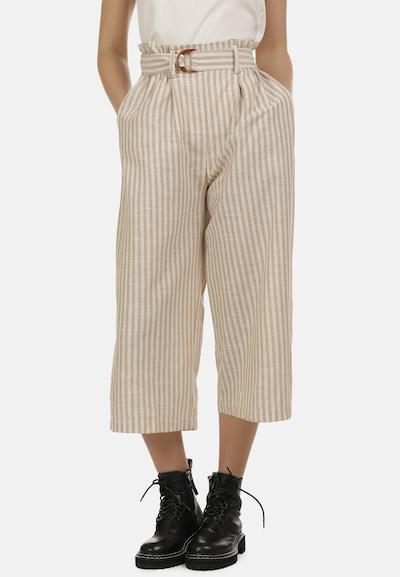 DreiMaster Vintage Hose in hellbraun / weiß, Modelansicht