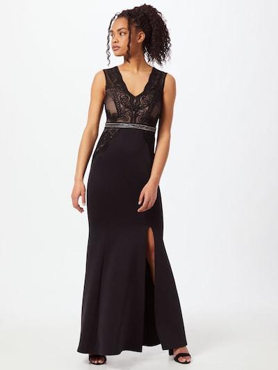 Lipsy Kleid in puder / schwarz / silber, Modelansicht