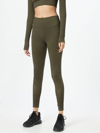 aim'n Workout Pants in Khaki, View model