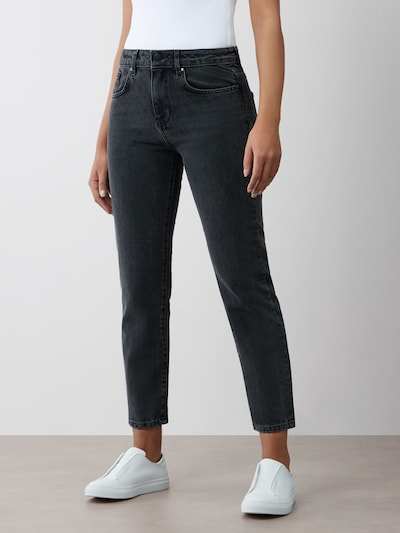 Aligne Jeans 'Adrie' in grey denim, Modelansicht