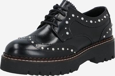 SCOTCH & SODA Chaussure à lacets 'Olivine' en noir / argent, Vue avec produit