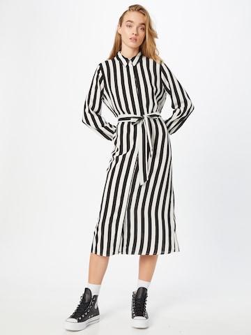 JDY Shirt dress 'ELLY' in White