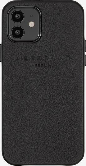 Liebeskind Berlin Protection pour smartphone 'Mocap' en noir, Vue avec produit