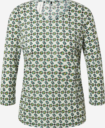 GERRY WEBER Shirt in de kleur Goud / Smaragd / Mintgroen / Zwart / Offwhite, Productweergave