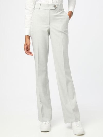 FIVEUNITS Pantalón chino 'Clara Rax' en gris claro / blanco, Vista del modelo