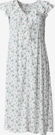 Indiska Kleid in grün / weiß, Produktansicht