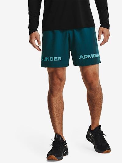 UNDER ARMOUR Sportbroek in de kleur Lichtblauw / Eosine: Vooraanzicht