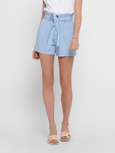 ONLY Kalhoty se sklady v pase - světlemodrá, Model/ka