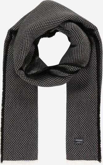 JACK & JONES Écharpe 'ELLIOT' en noir / blanc, Vue avec produit