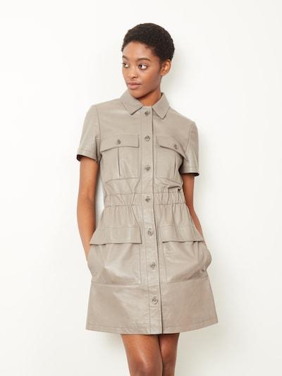 Rochie tip bluză 'Caledonia' Aligne pe gri taupe, Vizualizare model