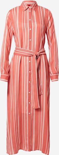 HUGO Robe-chemise 'Ermeta' en rouge orangé / blanc, Vue avec produit