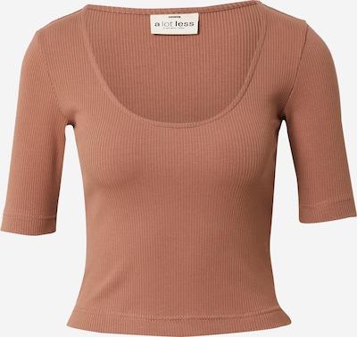 A LOT LESS Shirt 'Mirja' in schoko, Produktansicht