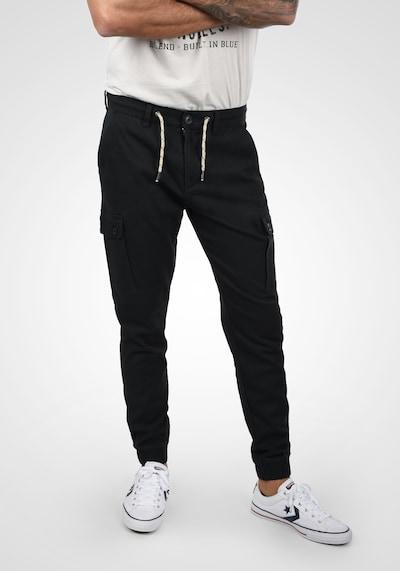 BLEND Cargohose 'Sellini' in schwarz, Modelansicht