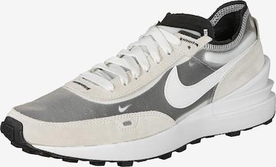 Nike Sportswear Sneaker 'Waffle One' in grau / weiß: Frontalansicht