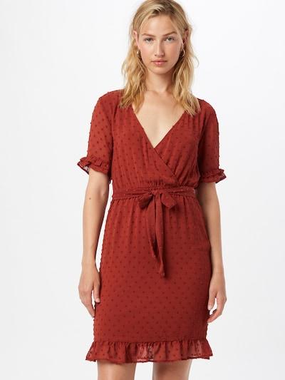 VILA Kleid 'DOTTEN' in rostbraun, Modelansicht