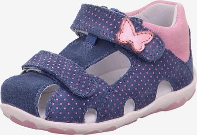 SUPERFIT Sandaalit 'Fanni' värissä laivastonsininen / roosa, Tuotenäkymä