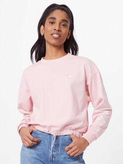 FILA Sweatshirt 'ALTIN' in Orange / Pastel pink / White: Frontal view