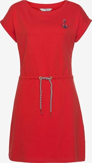 Tom Tailor Polo Team Sommerkleid in dunkelblau / rot / weiß, Produktansicht